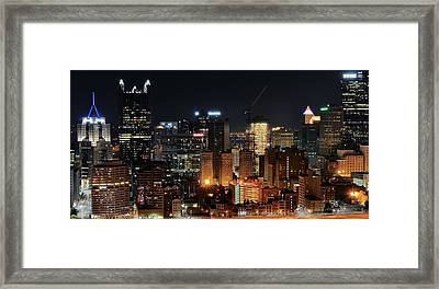 Pittsburgh Up Close II Framed Print by Frozen in Time Fine Art Photography