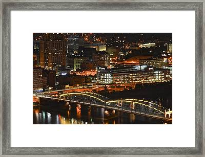 Pittsburgh Up Close Framed Print by Frozen in Time Fine Art Photography