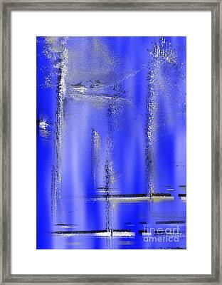 Pixel Dance Framed Print by Bruno Santoro