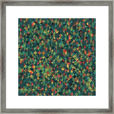 Pixel Framed Print by Mike Taylor
