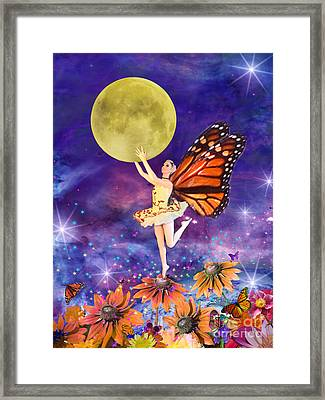 Pixie Ballerina Framed Print by Alixandra Mullins