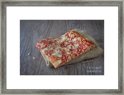 Pizza Slice Framed Print