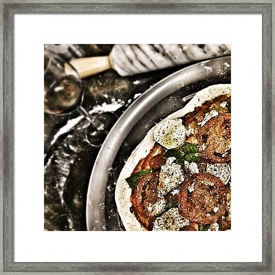 Pizza Time Framed Print