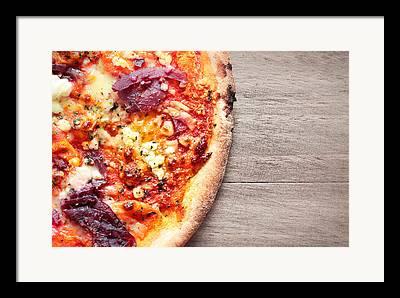 Italian Meal Framed Prints