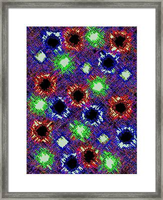 Pizzazz 26 Framed Print by Will Borden