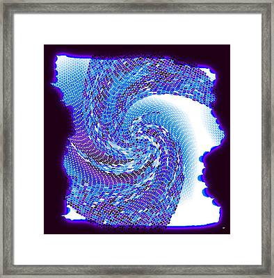 Pizzazz 42 Framed Print by Will Borden