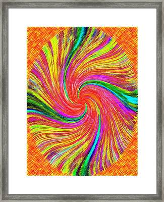 Pizzazz 43 Framed Print by Will Borden