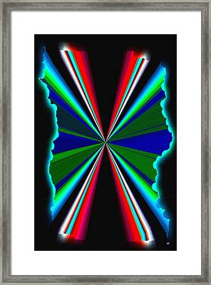 Pizzazz 44 Framed Print by Will Borden