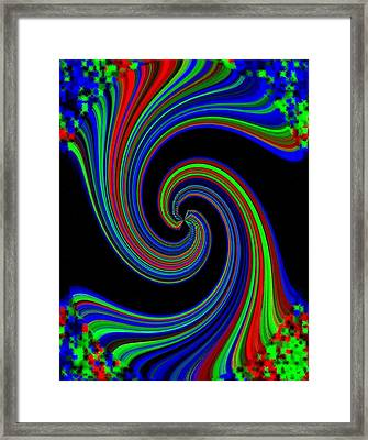 Pizzazz 49 Framed Print by Will Borden