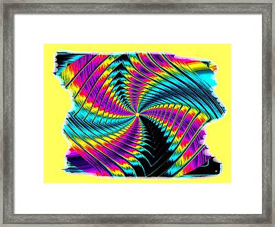 Pizzazz 50 Framed Print by Will Borden
