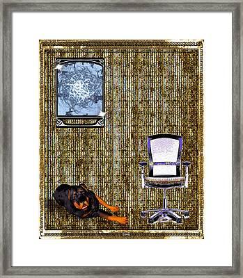 Place Framed Print by Daniel Janda