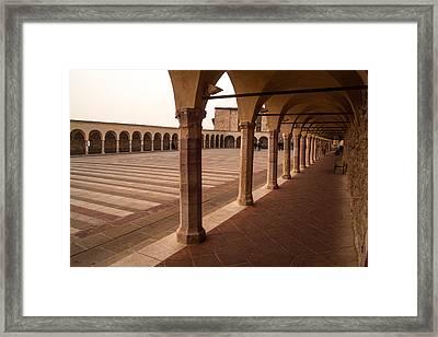 Place For Meditation Framed Print