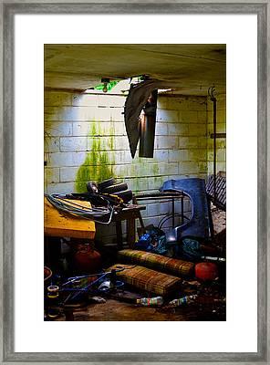 Place For My Stuff Framed Print by Jeffrey Platt