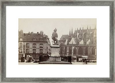 Place Nationale Duquesne Dieppe, France, Anonymous Framed Print