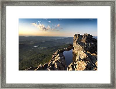 Place Of Healing Framed Print by Everett Houser