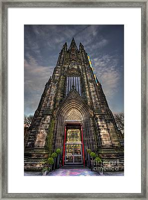 Place Of Higher Power Framed Print by Evelina Kremsdorf