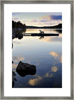 Place To Relax Framed Print by Douglas Pike