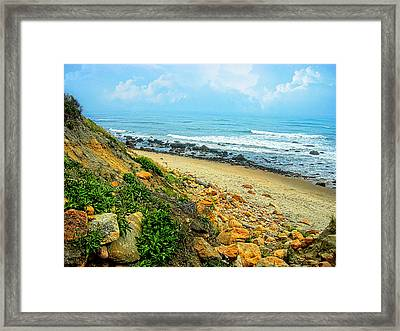 Place To Remember Framed Print by Lourry Legarde