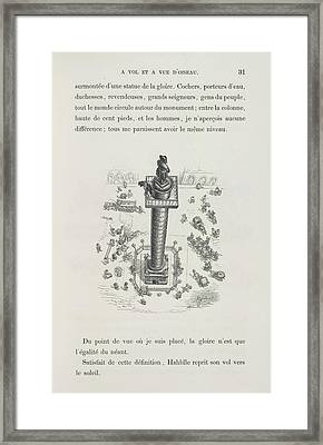 Place Vendome Framed Print