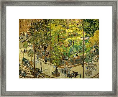 Place Vintimille Framed Print