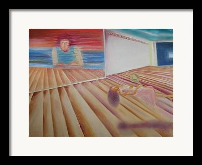 Interior Of A Virtual Studio Paintings Framed Prints