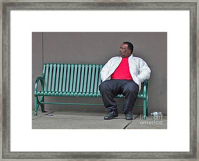 Places To Be Framed Print by Joe Jake Pratt