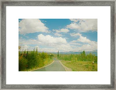 Framed Print featuring the photograph Places To Go And Things To Do by Shirley Heier