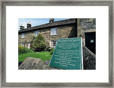 Plague Cottage Framed Print by Martin Bond