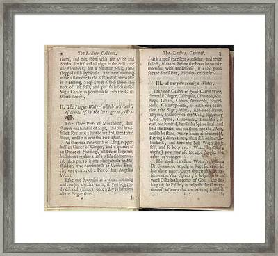 Plague-water Framed Print by British Library