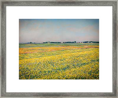 Plain Of Gennevilliers Framed Print by Mountain Dreams