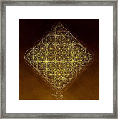 Planck Space Time  Framed Print by Jason Padgett