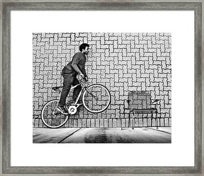 Plane And Simple Framed Print by Christopher Prosser