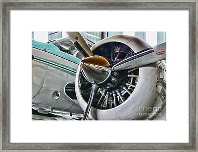 Plane First Class Framed Print by Paul Ward