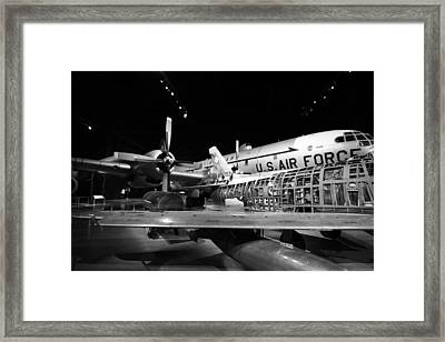Plane Guts Framed Print
