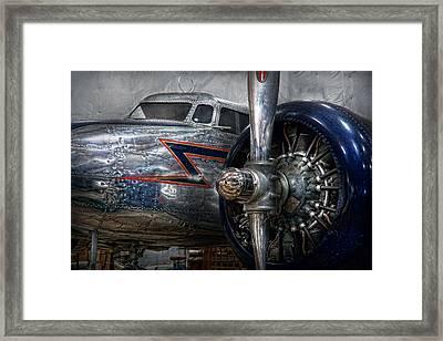 Plane - Hey Fly Boy  Framed Print