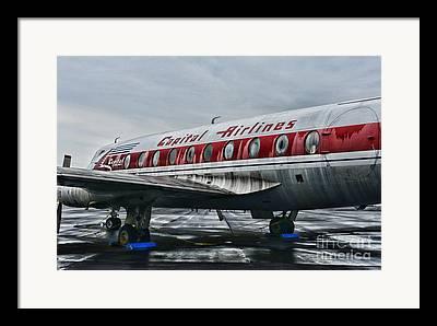 Obsolete Airline Framed Prints