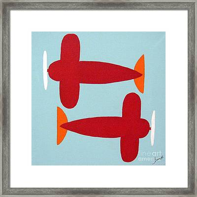 Planes  Framed Print by Graciela Castro