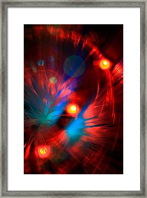 Framed Print featuring the photograph Planet Caravan by Dazzle Zazz