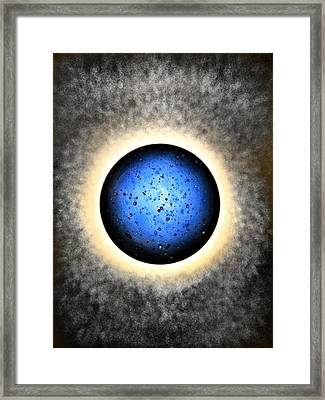 Planet Dream - My Little Planets Series Framed Print