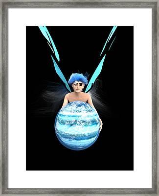 Planet Gift Framed Print