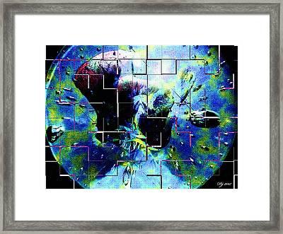 Planet N2 Framed Print