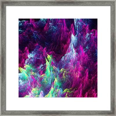 Planet Ocean Framed Print