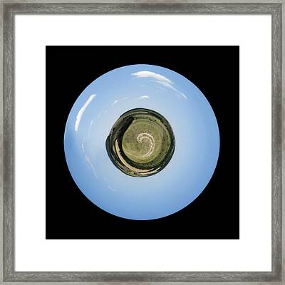 Planet Of Loneliness Framed Print