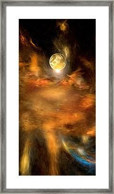 Planet One Framed Print by Daniel Mowry