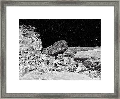 Planet Oz - Southwest Surreal Landscape Framed Print by Vlad Bubnov
