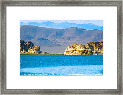 Planet Pyramid Framed Print