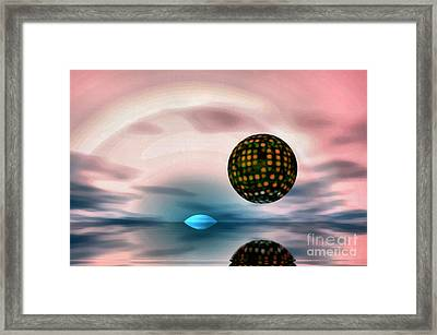 Planet Reflections Framed Print by Odon Czintos