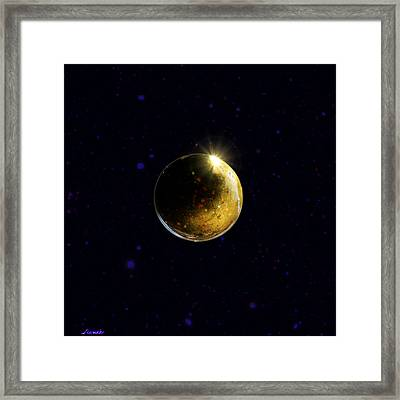 Planet Renatus Framed Print by Renee Anderson
