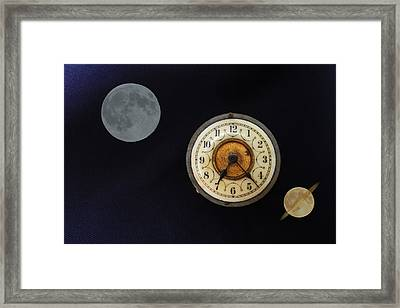 Planet Times Framed Print by David French