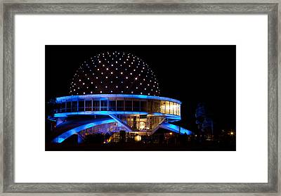 Framed Print featuring the photograph Planetarium by Silvia Bruno